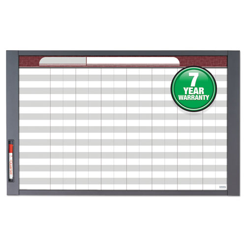 Inview Custom Whiteboard, 48 X 36, Graphite Frame