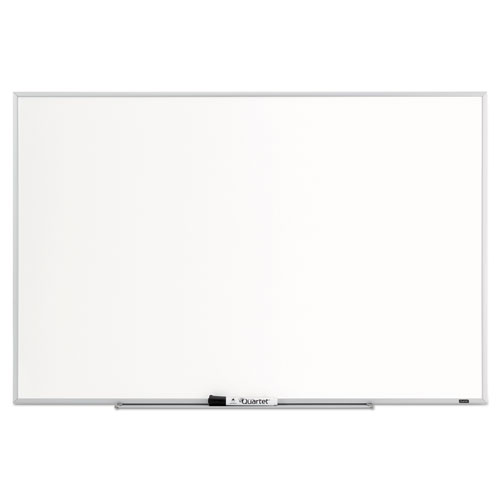 Dry Erase Board, Melamine Surface, 36 X 24, Silver Aluminum Frame
