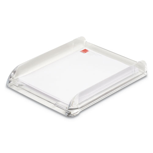 STRATUS ACRYLIC DOCUMENT TRAY, 1 SECTION, LETTER SIZE FILES, 10.75