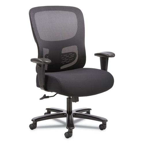 Image for 1-FOURTY-ONE BIG AND TALL MESH TASK CHAIR, SUPPORTS UP TO 350 LBS., BLACK SEAT/BLACK BACK, BLACK BASE