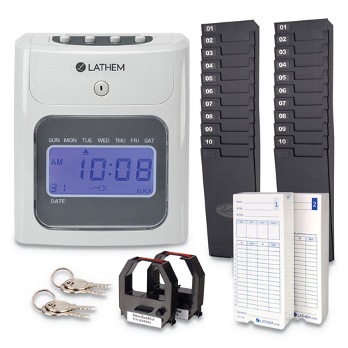 Image for 400E TOP-FEED TIME CLOCK BUNDLE, WHITE