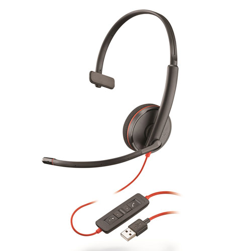 Image for BLACKWIRE 3210, MONAURAL, OVER THE HEAD HEADSET