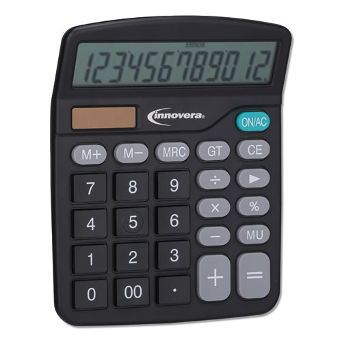 Image for 15923 DESKTOP CALCULATOR, 12-DIGIT, LCD