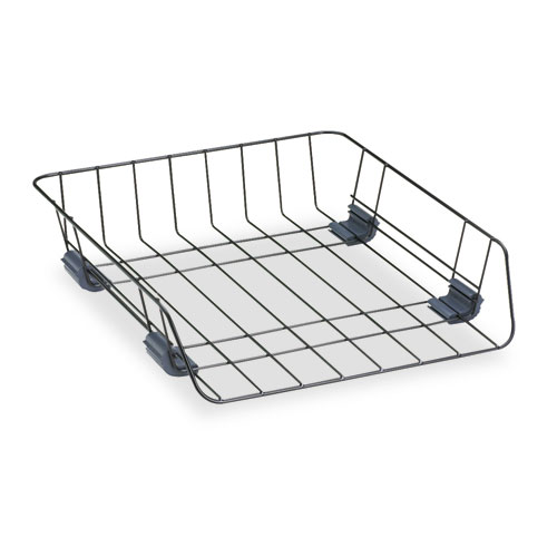 FRONT-LOAD WIRE DESK TRAY, 1 SECTION, LETTER SIZE FILES, 10.88