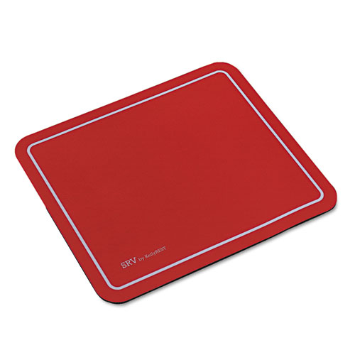 Optical Mouse Pad, 9 X 7-3/4 X 1/8, Red