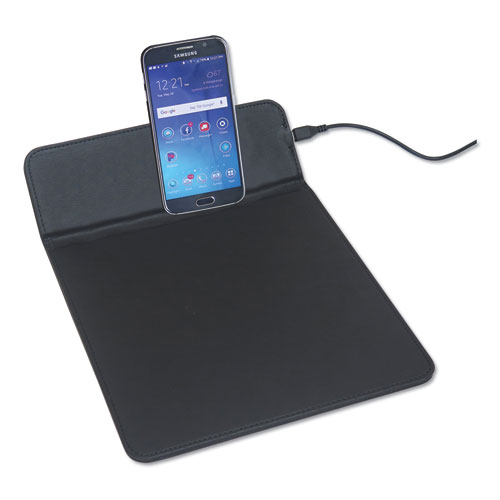 Image for WIRELESS CHARGING PADS, QI WIRELESS CHARGING, 5W, 11', BLACK