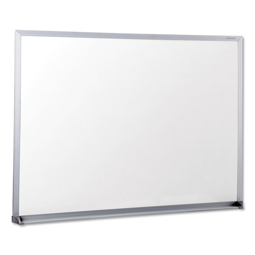 Dry-Erase Board, Melamine, 24 X 18, Satin-Finished Aluminum Frame