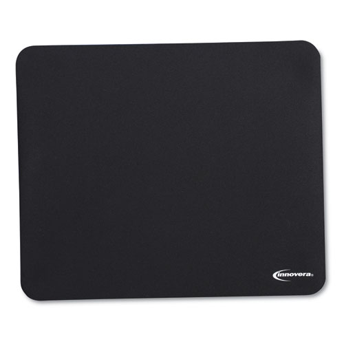 LATEX-FREE MOUSE PAD, BLACK