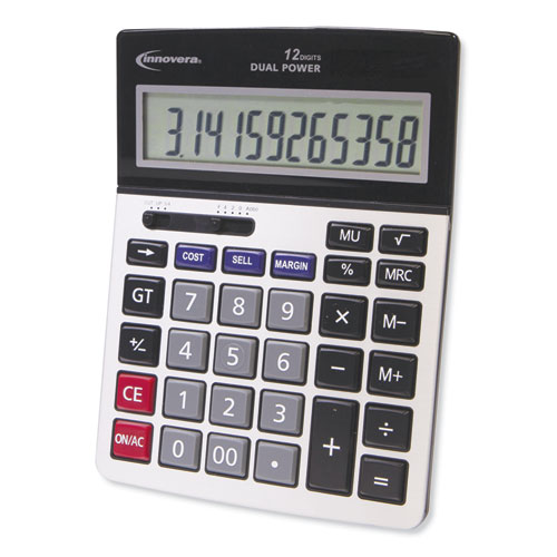 Image for 15968 PROFIT ANALYZER CALCULATOR, DUAL POWER, 12-DIGIT LCD DISPLAY