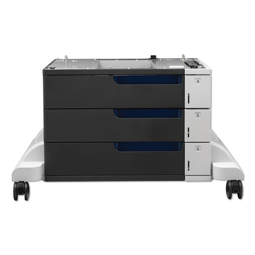 Image for Paper Feeder And Stand For Laserjet Cp5525, 3 Drawers Of 500 Sheets