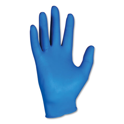 G10 NITRILE GLOVES, ARTIC BLUE, LARGE, 200/BOX