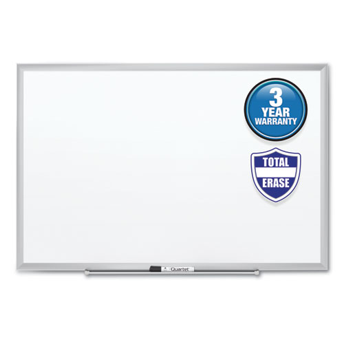 CLASSIC SERIES TOTAL ERASE DRY ERASE BOARD, 36 X 24, SILVER ALUMINUM FRAME