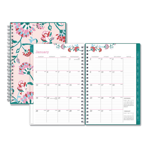BREAST CANCER AWARENESS WEEKLY/MONTHLY PLANNER, 8 X 5, 2021