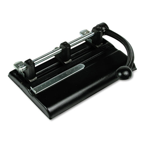40-Sheet Lever Action Two- To Seven-Hole Punch, 13/32
