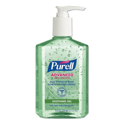 Purell Advanced Hand Sanitizer Gel, Fresh Scent, 8OZ Bottle