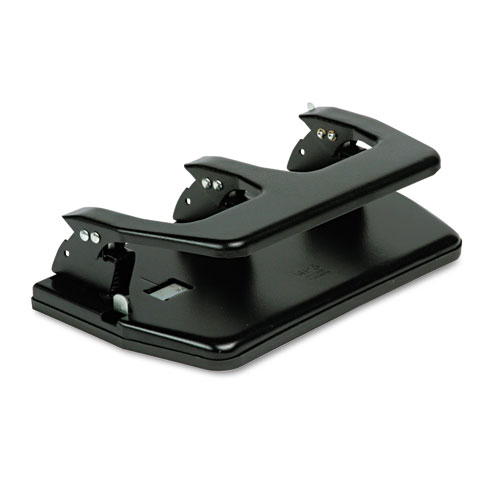 20-Sheet Three-Hole Punch, Oversized Handle, 9/32