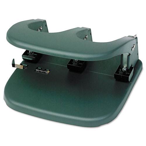 Mega-Duty Three-Hole Punch, 80-Sheet Capacity