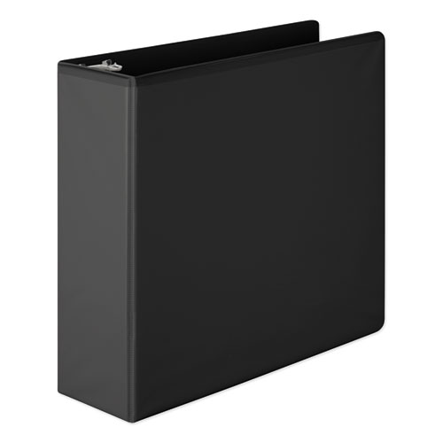 HEAVY-DUTY ROUND RING VIEW BINDER WITH EXTRA-DURABLE HINGE, 3 RINGS, 3