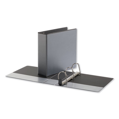 DELUXE EASY-TO-OPEN D-RING VIEW BINDER, 3 RINGS, 3