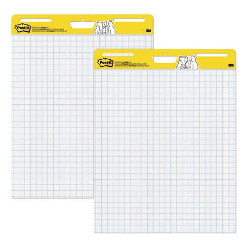 SELF-STICK EASEL PADS, 25 X 30, WHITE, 30 SHEETS, 2/CARTON