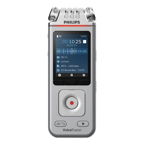 Image for VOICE TRACER 4110 DIGITAL RECORDER, 8 GB, SILVER