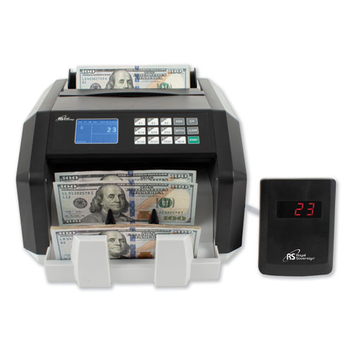 Image for BACK LOAD BILL COUNTER W/ VALUE COUNTING/COUNTERFEIT DETECTION, 1400 BILLS/MIN