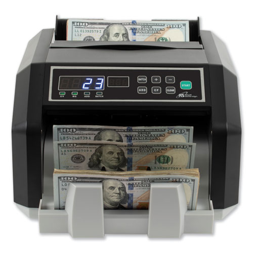 Image for BACK LOAD BILL COUNTER WITH COUNTERFEIT DETECTION, 1400 BILLS/MIN
