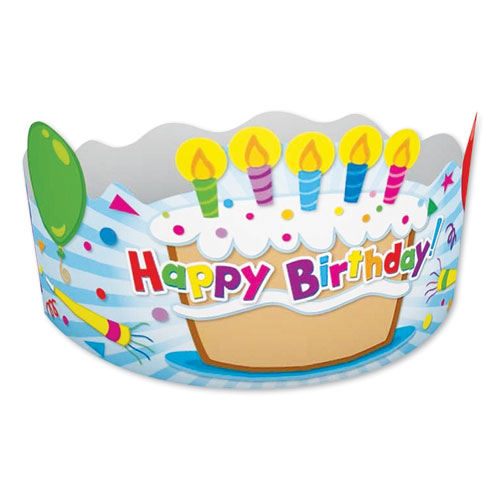 Image for Student Crown, Birthday, 4 X 23 1/2, 30/pack