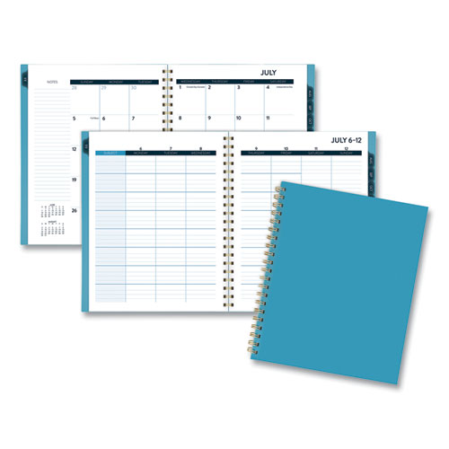 TEACHER COLLECTION ACADEMIC PLANNER, 11 X 8 1/2, NAVY, 2019-2020