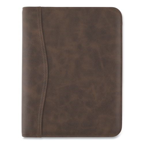 Image for DISTRESSED BROWN LEATHER STARTER SET, 11 X 8.5, BROWN