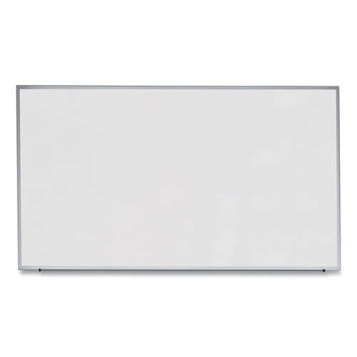Dry Erase Board, Melamine, 72 X 48, Satin-Finished Aluminum Frame
