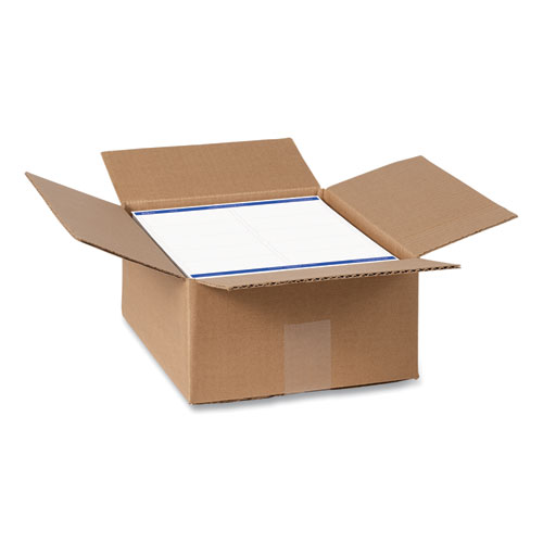 SHIPPING LABELS W/ TRUEBLOCK TECHNOLOGY, INKJET/LASER PRINTERS, 2 X 4, WHITE, 10/SHEET, 500 SHEETS/BOX