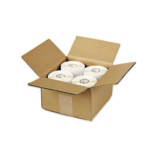MULTIPURPOSE THERMAL LABELS, 4 X 6, WHITE, 220/ROLL, 4 ROLLS/PACK