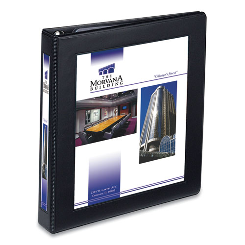FRAMED VIEW HEAVY-DUTY BINDERS, 3 RINGS, 1