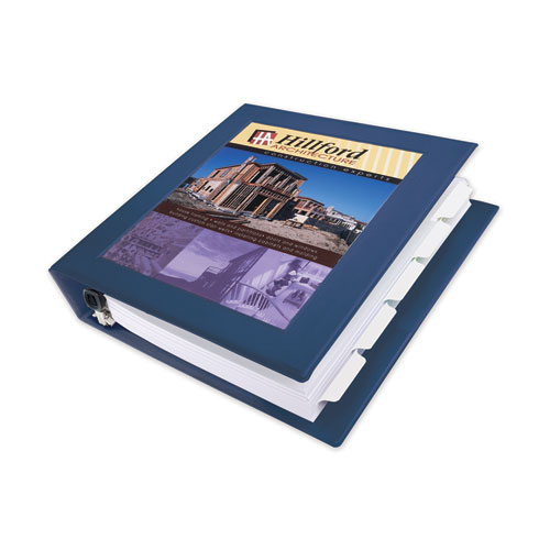 FRAMED VIEW HEAVY-DUTY BINDERS, 3 RINGS, 0.5