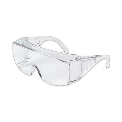 YUKON SAFETY GLASSES, CLEAR FRAME, CLEAR LENS