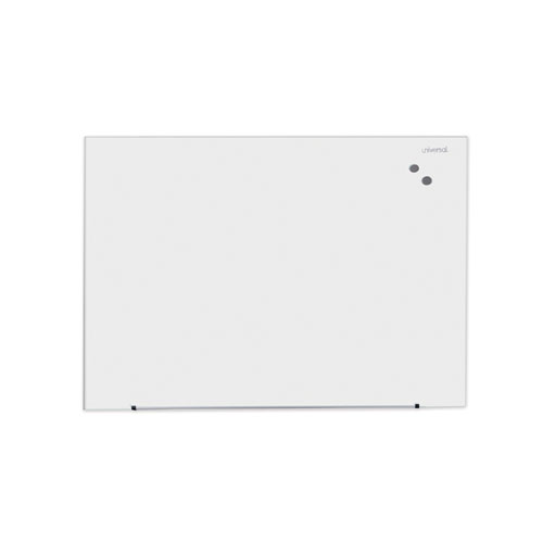 Frameless Magnetic Glass Marker Board, 48