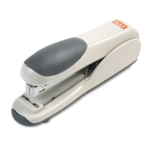 FLAT-CLINCH FULL STRIP STANDARD STAPLER, 30-SHEET CAPACITY, GRAY