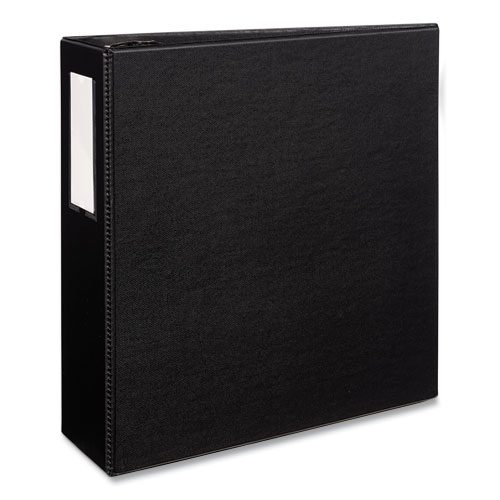 DURABLE NON-VIEW BINDER WITH DURAHINGE AND EZD RINGS, 3 RINGS, 4