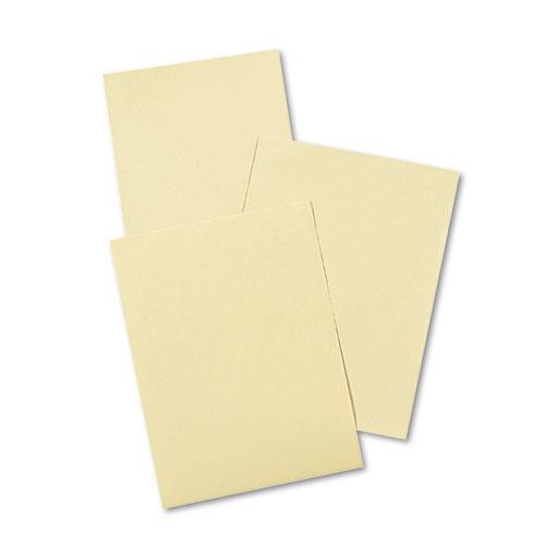 CREAM MANILA DRAWING PAPER, 50LB, 9 X 12, CREAM MANILA, 500/PACK