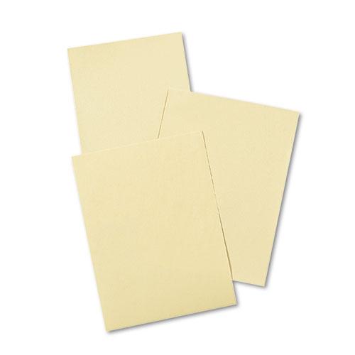 CREAM MANILA DRAWING PAPER, 40LB, 9 X 12, CREAM MANILA, 500/PACK