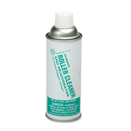 Rubber Roller Cleaner For Martin Yale Folders, 13-Oz. Spray Can