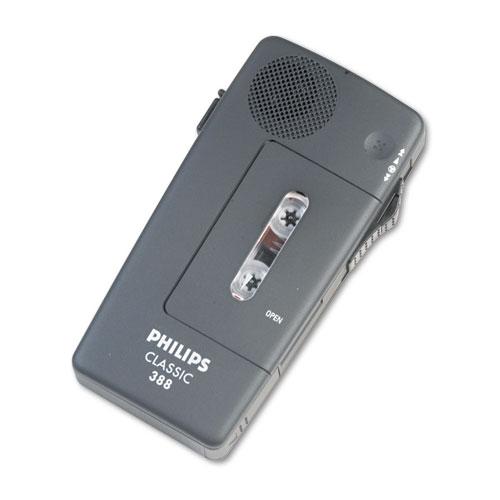 Image for Pocket Memo 388 Slide Switch Mini Cassette Dictation Recorder