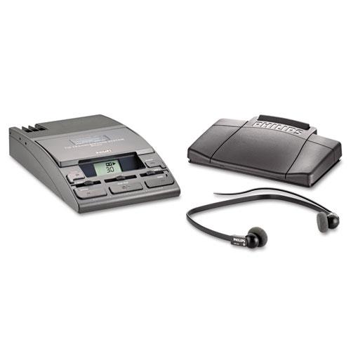 Image for 720-T Desktop Analog Mini Cassette Transcriber Dictation System W/foot Control