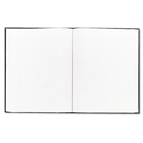 EXECUTIVE NOTEBOOK, MEDIUM/COLLEGE RULE, BLACK COVER, 10 3/4 X 8 1/2, 75 SHEETS