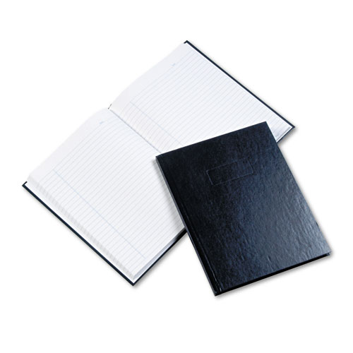 BUSINESS NOTEBOOK, MEDIUM/COLLEGE RULE, BLUE COVER, 9.25 X 7.25, 192 SHEETS