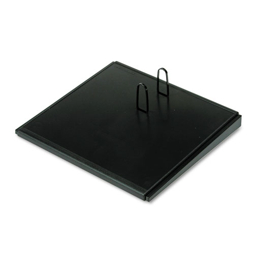 Desk Calendar Base, Black, 4 1/2