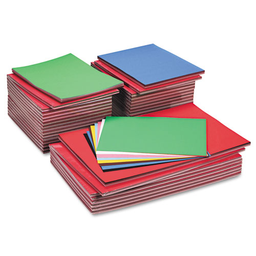 TRU-RAY CONSTRUCTION PAPER, 76LB, ASSORTED, ASSORTED, 100 SHEETS/PACK, 20 PACKS/CARTON
