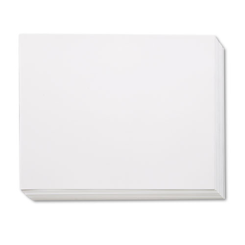 FOUR-PLY RAILROAD BOARD, 22 X 28, WHITE, 100/CARTON
