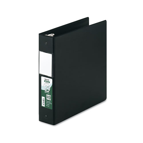 CLEAN TOUCH LOCKING ROUND RING REFERENCE BINDER PROTECTED W/ANTIMICROBIAL ADDITIVE, 3 RINGS, 2
